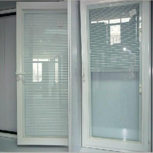 Tempered Low-E Double Glazed Glass With Louvers