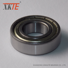 Iron Sealed Ball Bearing 6307 ZZ C3