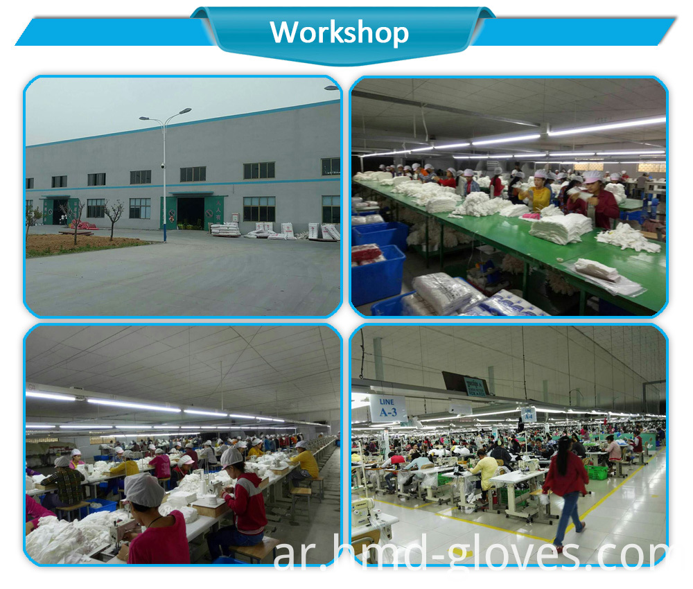 Cotton Glove Factory Workshop