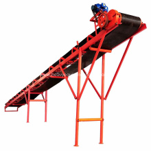 Sidewall Belt Conveyor System For Sand Coal Conveying