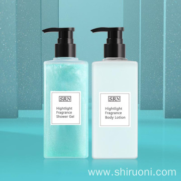 Highlight Fragrance Shower Gel Body Lotion Set