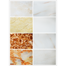 Low price beautiful Marble texture UV wall panel