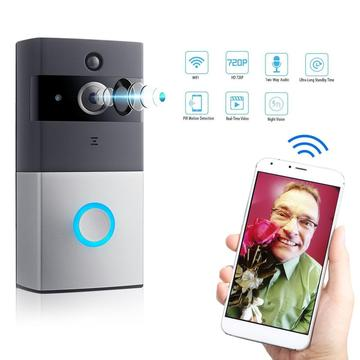 Battery smart house doorbell wifi