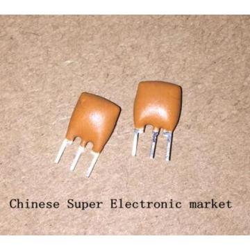 100PCS Ceramic Resonators ZTT12.00MT ZTT12.0M ZTT12 ZTT 12.000MHZ 12MHZ 12.000M 12M 3P DIP-3
