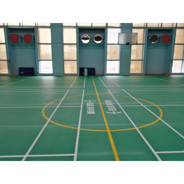 BWF approved PVC badminton court mat
