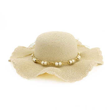 certification hat wholesale wave profile straw hat