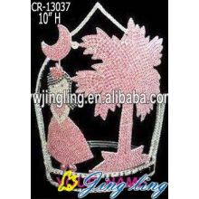 Jingling Cheap crown cute girl coconut palm shape