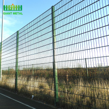 PVC coating double wire mesh garden fence