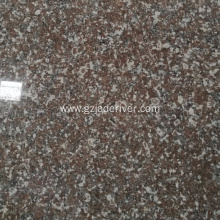 Polished Red Sturdy Granite Slab Tile Wholesale