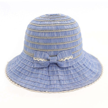 Adjustable polyester bucket hat panama cloth hat