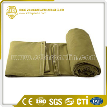 Military Water Resistant Extra Heavy Duty Canvas Tarp