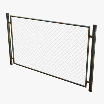 Chain link fence top rails
