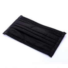 Disposable Face Mask Black Earloop Face Mask