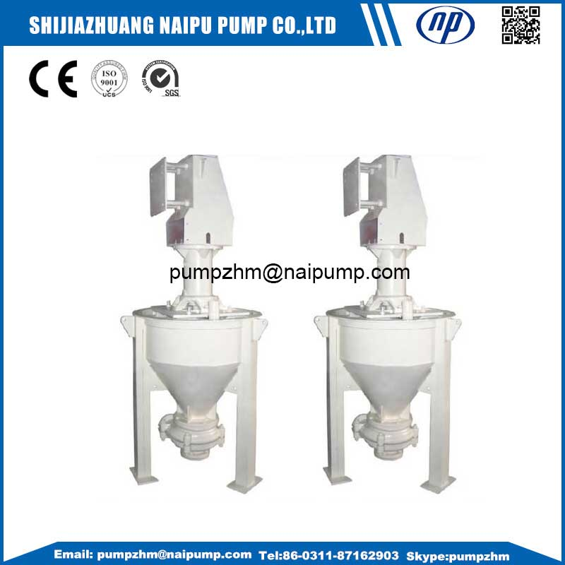 17 pump for frothy slurry