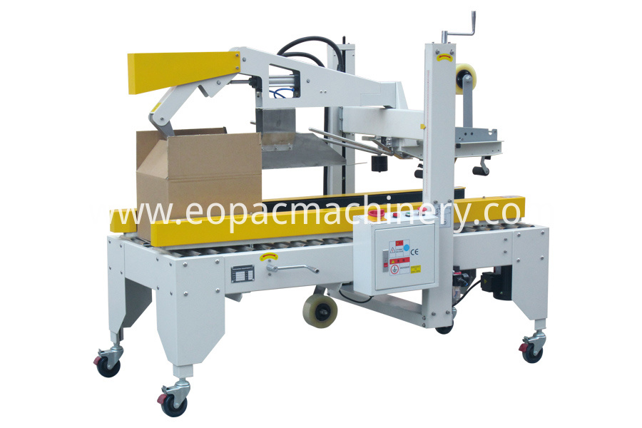 Automatic Box Flaps Folding Case Sealer