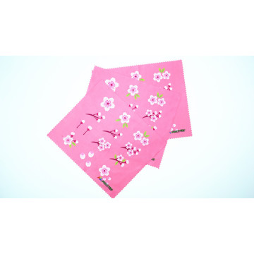 microfiber cloth for lab using