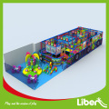Physical educational plastic indoor playground