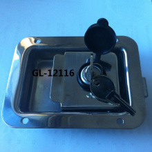Panel Flush Paddle Latch Lock For Truck