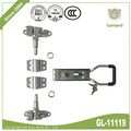 Commercial Vehicle Lockable Door Latch With Keys