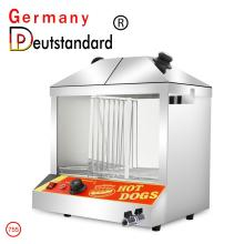 Hot Dog display warmer warming showcase