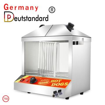 Warmhaltevitrine mit Hot Dog-Display