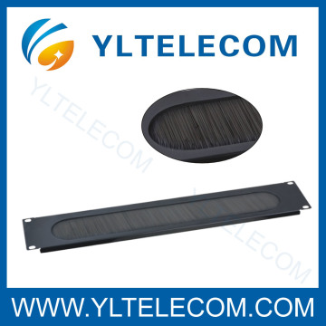 19 Inch Blank Panel Cable Manager With Brush 2U