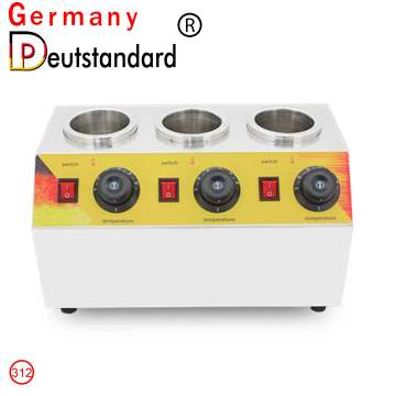 Three-head sauce warmer machine for sale