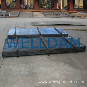 chromium carbide overlay hardfacing wear plate liner