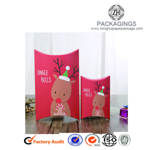 Christmas paper candy packaging box for chocolate