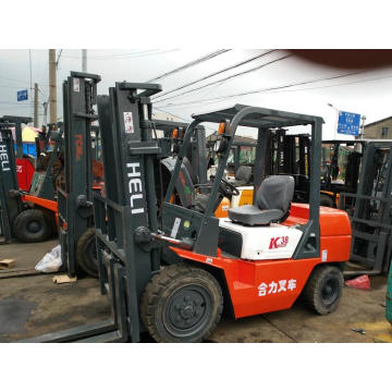 HELI newest forklifts by electric