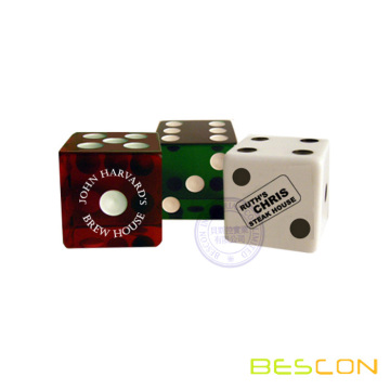 High Quality Promotional Logo Imprinted Dice