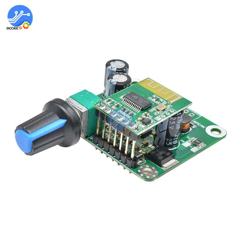 TPA3110 Bluetooth 4.2 Digital Amplifier Board 15w+15W 12V-24V Stereo Audio USB Speaker Volume Control Modulo Amplificador