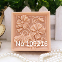 New Product!!1pcs 6.6x3.0cm Small Flowers (zx146) Silicone Handmade Soap Mold Crafts DIY Mould