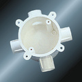 Conduit Upvc Extension Ring White Color