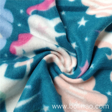 Double Side Printed Polar Fleece Fabric