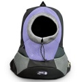 Blue Large PVC and Mesh Pet Backpack