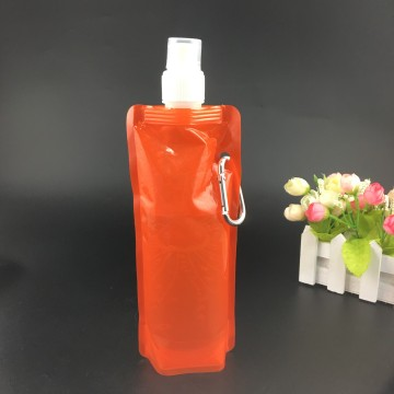 Gravure printing recyclable 480ml nozzle bag for drinking