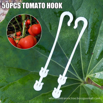 Convenient 50 Pcs Agricultural Ear Hook Farming Tomatoes Greenhouse Clamp Fruit Vegetable Fix