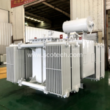 1600KVA 11/0.4KV oil immersed distribution transformer