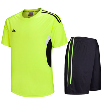 Hot sale mens wicking soccer jersey