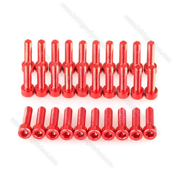 M3*8mm Aluminum 7075 Dome Head Button Screws