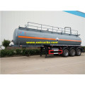 Tri-axle 28 CBM Hydrochloric Acid Transport Trailers