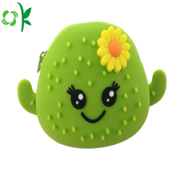 New Style Waterproof Silicone Coin Purse for Girls