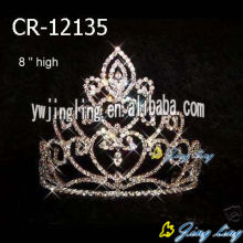 High quality new design Rhinestone Pageant Crowns