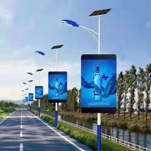 PH5 Outdoor led Lamp Post Pole display