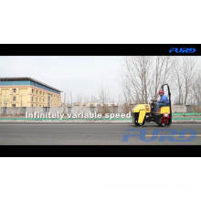 Small Drum Hand Operated Vibratory Roller Compactor (FYL-880)