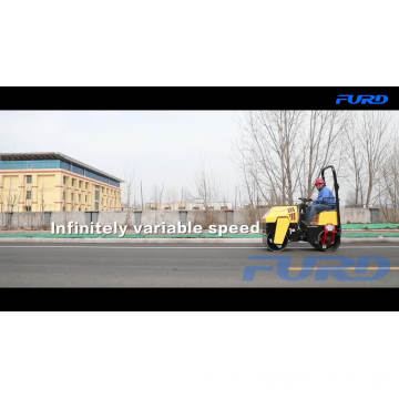 Ride-on 1ton Road Mini Vibratory Roller Light Compaction Equipment FYL-880