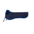 Lambskin half pad without back frame dark blue
