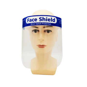 Custom Safety Clear Plastic Adult Full Face Shield