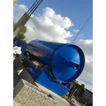 latest used tire scrap pyrolysis machine